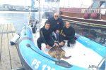 Palermo, tartaruga marina salvata dai sommozzatori