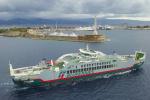 Stretto di Messina: le immagini di Trinacria, la nuove nave di Blueferries