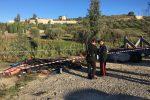 Bruciava rifiuti speciali in un terreno, un arresto a Baucina