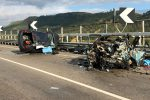 Incidente mortale lungo la statale per Butera, le foto dopo il terribile impatto