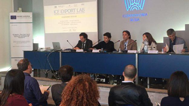 Ice Export Lab Sicilia, pmi sicilia, sicindustria, Adele Massi, Alessandro Albanese, Sicilia, Economia