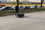 Incidente mortale con la moto a Palermo, le immagini da viale Regione