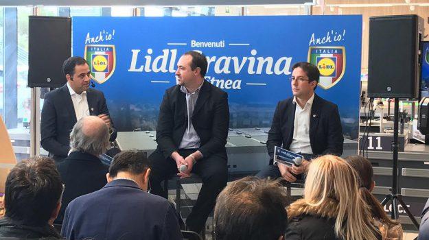 gravina nuovo lidl, lidl, Antonio Roberto Rapisarda, Riccardo Magarini, Catania, Economia