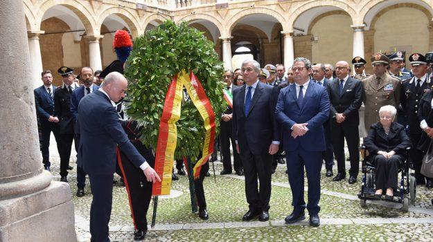 Strage di Nassiriya commemorazione, Antonio Tajani, Gianfranco Miccichè, Palermo, Cronaca