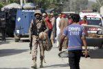 Pakistan esplosione bomba