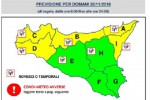 Maltempo, prosegue l'allerta gialla in Sicilia: anche per mercoledì previste piogge e vento