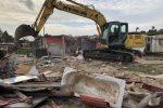 Campo rom di Palermo, liberate e demolite altre quattro baracche