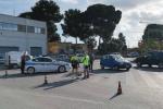 Ciclista travolto da un'auto a Trapani: ferite non gravi