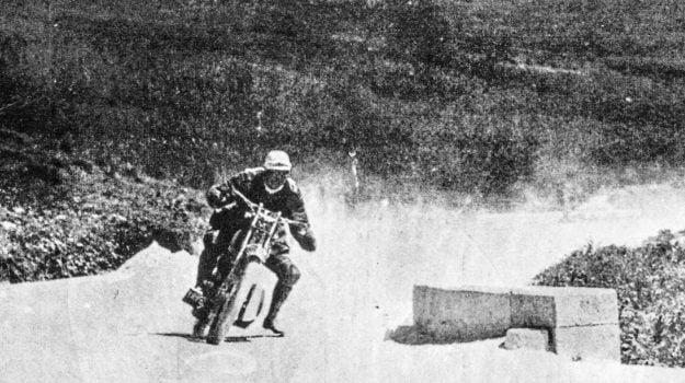 Foto storica della gara