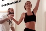 Diletta Leotta si allena in palestra e manda i social in tilt