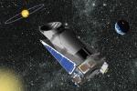 Rappresentazione artistica del telescopio Kepler della Nasa (fonte: Nasa)