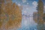 Autumn effect at Argenteuil di Claude Monet (1873)