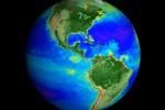 Nasa, in un video 20 anni di cambiamenti climatici (un frame del video)