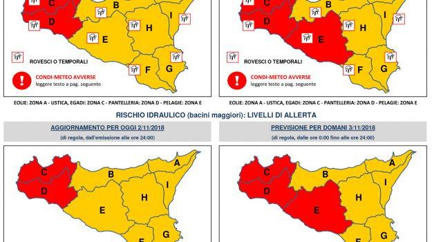 Allerta rossa Sicilia, Sicilia, Cronaca