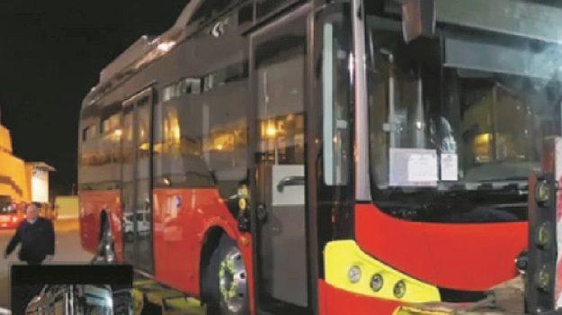 autobus elettrico, Messina, Cronaca