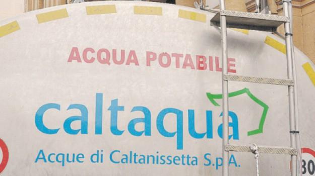acqua, Caltanissetta, Cronaca