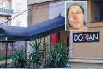 Il locale Dorian e nel riquadro l'imprenditore Giovanni Caruso