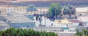 Il centro di accoglienza profughi di Pian del Lago