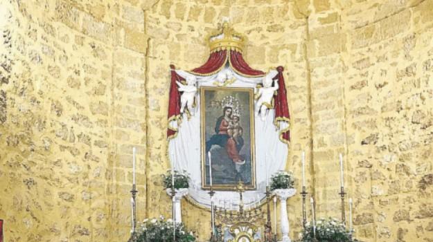 restauro chiesa della tagliata, Domenico Mogavero, Trapani, Cronaca