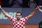 Davis Cup, la Croazia domina la prima giornata: Francia sotto 2-0