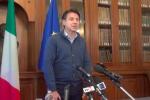 """Casteldaccia, la conferenza stampa del premier Conte: """"Tragedia immane, Governo vicino alle famiglie"""""""