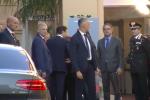 Summit sulla Libia a Palermo, l'arrivo del premier Conte a Villa Igea