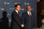 Summit sulla Libia a Palermo, Conte accoglie gli ospiti a Villa Igea