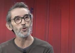 Il fumettista toscano ospite del Corriere della Sera ion occasione dell'uscita del film «Il ragazzo più felice del mondo» in concorso all'ultima Mostra di Venezia