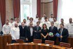 Messina, presentata la squadra di pallanuoto maschile