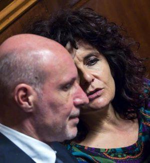 I senatori del M5s Gregorio De Falco e Paola Nugnes