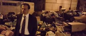 Emergenza rifiuti a Messina, il sopralluogo del sindaco De Luca: scuola materna invasa dai topi