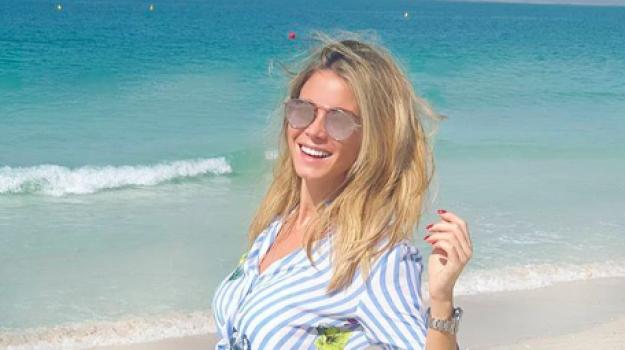 Relax negli Emirati per la catanese Diletta Leotta
