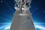 Rappresentazione grafica del motore M10 costruito dalla Avio per il futuro lanciatore dell'Esa Vega E (fonte: Avio)