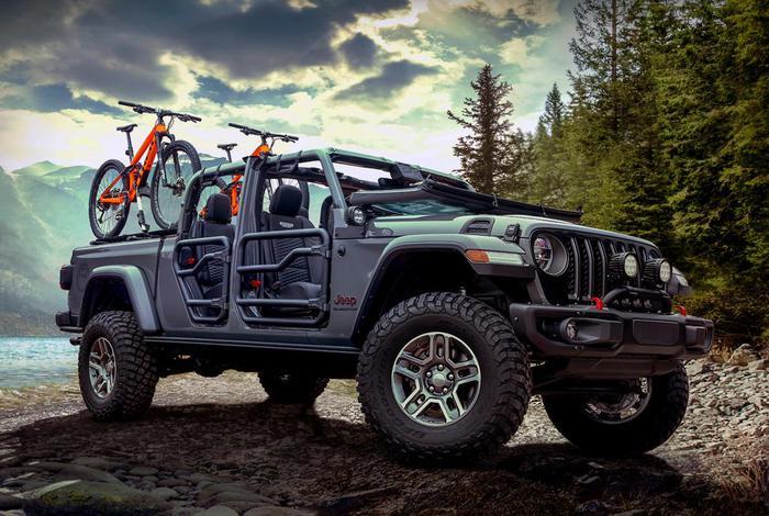 200 accessori mopar per personalizzare jeep gladiator giornale di