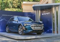 Audi con suv e-Tron partner 'eco' di Cortina d'Ampezzo