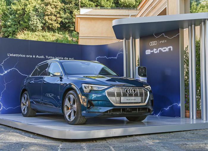 Audi con suv e tron partner eco di cortina dampezzo giornale di