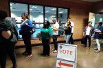 Dalle urne allo spoglio, le immagini delle elezioni midterm negli Usa