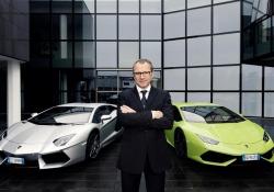 Il Ceo di Lamborghini, Stefano Domenicali