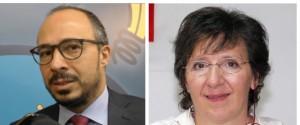 Davide Faraone e Teresa Piccione