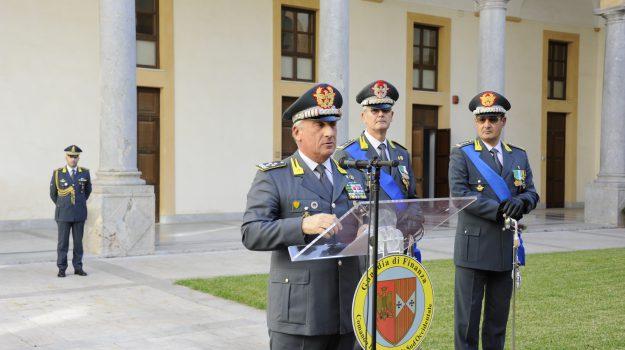 Cambio guardia finanza comando, Palermo, Cronaca
