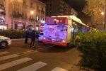 Travolto da un bus e ucciso a Palermo: il video da via Libertà