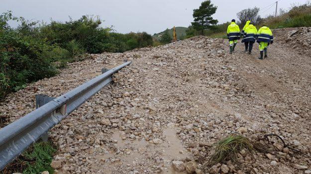 A29 incidente, chiude la SS 115, esonda torrente Cansalamone, maltempo sicilia, Sicilia, Cronaca