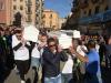 I feretri delle vittime della tragedia di Casteldaccia