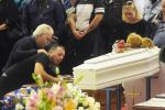 I funerali delle nove vittime di Casteldaccia