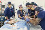 Intervento chirurgico a Melbourne, separate con successo due gemelline siamesi