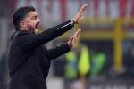 """Scontro sul Milan, Salvini invia un sms a Gattuso: """"Non volevo attaccarlo"""""""