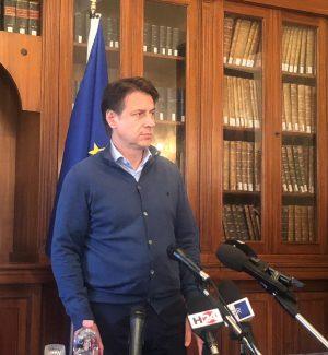 """Casteldaccia, Conte a Palermo: """"Tragedia immane, stanzieremo fondi per i territori più colpiti"""""""