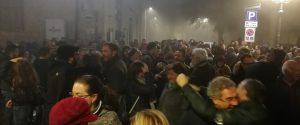 Festeggiamenti notturni a Petralia, il paese più alto delle Madonie