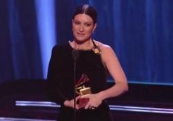 La cantante italiana premiata per il suo album