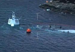 La fregata della marina militare norvegese era entrata in collisione con una nave cargo maltese la settimana scorsa